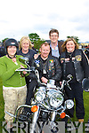 Bikers Brid Coffey, Chris Burns, Tom Mangan, Patrick O'Donoghue and Angela Dunphy all Killarney at the Brehon Hotel on Sunday to officially launch the Harley Davidson rally which will be held in Killarney in June   Copyright Kerry's Eye 2008