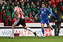 Lawrie Wilson of Stevenage takes on Michael Doyle of Sheffield United. - Sheffield United v Stevenage - npower League 1 - Bramall Lane, Sheffield  - 28th April, 2012. © Kevin Coleman 2012