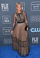 SANTA MONICA, USA. January 12, 2020: Molly Sims at the 25th Annual Critics' Choice Awards at the Barker Hangar, Santa Monica.<br /> Picture: Paul Smith/Featureflash