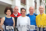Margaret O'Leary Gneeveguilla, John Doona Killarney, Maureen Harrington Kenmare, Tim O'Leary Killarney and Donal O'Callaghan Riocht at the Killarney Lions Club mini marathon in Killarney on Sunday .