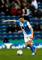 8th February 2020; Ewood Park, Blackburn, Lancashire, England; English Football League Championship Football, Stewart Downing of Blackburn Rovers gets his shot towards goal - Strictly Editorial Use Only. No use with unauthorized audio, video, data, fixture lists, club/league logos or 'live' services. Online in-match use limited to 120 images, no video emulation. No use in betting, games or single club/league/player publications