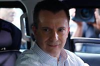 SAO PAULO. SP. 03.04.2015 - VELORIO THOMAZ ALCKMIN. Celso Russomano sai do velório do filho do governador Geraldo Alckmin, Thomaz Alckmin, no hospital Albert Einstein em São Paulo, na tarde desta sexta-feira (04), na zona sul de São Paulo (Foto: Adriana Spaca / Brazil Photo Press)
