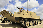 Israel, Shephelah, BTR-50P Armored personnel carrier at the Armored Corps Memorial Site and Museum at Latrun