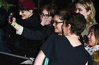 "LONDON, UK. November 13, 2019: Olivia Colman arriving for ""The Crown"" series 3 premiere at the Curzon Mayfair, London.<br /> Picture: Steve Vas/Featureflash"