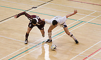 13 MAR 2009 - SHEFFIELD,GBR -  Loughborough University (maroon) v Bath University (white) - BUCS Championships '09. .(PHOTO (C) NIGEL FARROW)