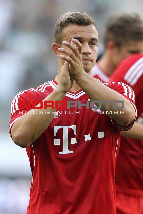 21.07.2013, Borussia Park, Moenchengladbach, GER, Telekom Cup 2013, Borussia M&ouml;nchengladbach vs FC Bayern M&uuml;nchen, im Bild<br /> Xherdan Shaqiri (Muenchen #11)<br /> <br /> Foto &copy; nph / Mueller