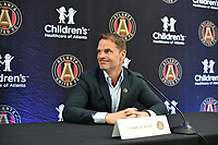 Atlanta United Introduces New Manager Frank de Boer, January 14, 2019