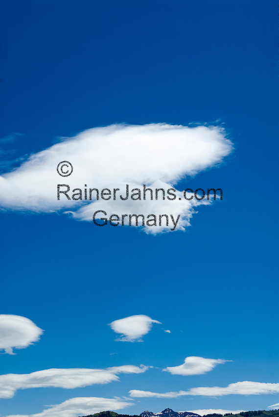 Foehn Clouds on the northern fringe of the Alps | Foehnwolken am Alpenrand |