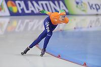 SCHAATSEN: SALT LAKE CITY: Utah Olympic Oval, 15-11-2013, Essent ISU World Cup, 3000m, Annouk van der Weijden (NED), ©foto Martin de Jong