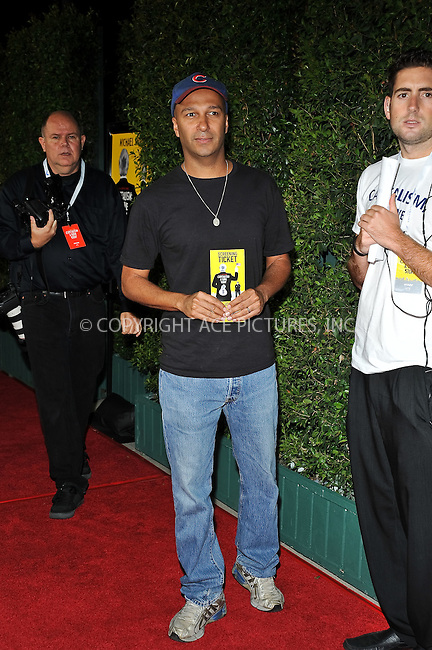 WWW.ACEPIXS.COM . . . . . ....September 15 2009, LA....Tom Morello arriving at the LA screening of  'Capitalism: A Love Story' on September 15, 2009 in Beverly Hills, California.....Please byline: JOE WEST- ACEPIXS.COM.. . . . . . ..Ace Pictures, Inc:  ..(646) 769 0430..e-mail: info@acepixs.com..web: http://www.acepixs.com