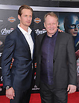 Alexander Skarsgard and Stellan Skarsgard- at Marvel's The Avengers World Premiere held at The El Capitan Theatre in Hollywood, California on April 11,2012                                                                               © 2012 DVS/Hollywood Press Agency