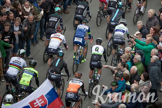 Start in Mol with World Champion Peter Sagan (SVK/Bora Hansgrohe) &amp; German Champion Andr&eacute; Greipel (DEU/Lotto-Soudal)<br /> <br /> 105th Scheldeprijs 2017 (1.HC)<br /> 1day race: Mol &gt; Schoten 200km
