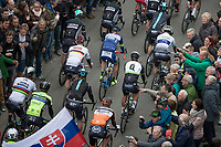 Start in Mol with World Champion Peter Sagan (SVK/Bora Hansgrohe) &amp; German Champion Andr&eacute; Greipel (DEU/Lotto-Soudal)<br /> <br /> 105th Scheldeprijs 2017 (1.HC)<br /> 1day race: Mol &gt; Schoten 200km