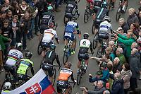 Start in Mol with World Champion Peter Sagan (SVK/Bora Hansgrohe) & German Champion André Greipel (DEU/Lotto-Soudal)<br /> <br /> 105th Scheldeprijs 2017 (1.HC)<br /> 1day race: Mol > Schoten 200km