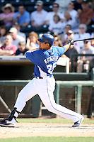 Kila Ka'aihue, Kansas City Royals 2010 minor league spring training..Photo by:  Bill Mitchell/Four Seam Images.