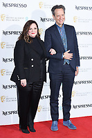 Melissa McCarthy and Richard E Grant<br /> arriving for the 2019 BAFTA Film Awards Nominees Party at Kensington Palace, London<br /> <br /> ©Ash Knotek  D3477  09/02/2019