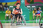 Shingo Fujii (JPN), <br /> SEPTEMBER 8, 2016 - Wheelchair Basketball : <br /> Preliminary Round Group A<br /> match between Turkey 65-49 Japan<br /> at Carioca Arena 1<br /> during the Rio 2016 Paralympic Games in Rio de Janeiro, Brazil.<br /> (Photo by AFLO SPORT)