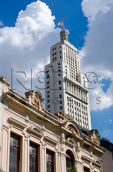 Vista do Edifício Altino Arantes, conhecido como Banespa, São Paulo - SP, 01/2014.