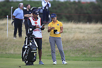 Misuzu Narita (JPN) on the 2nd fairway during Round 2 of the Ricoh Women's British Open at Royal Lytham &amp; St. Annes on Friday 3rd August 2018.<br /> Picture:  Thos Caffrey / Golffile<br /> <br /> All photo usage must carry mandatory copyright credit (&copy; Golffile | Thos Caffrey)