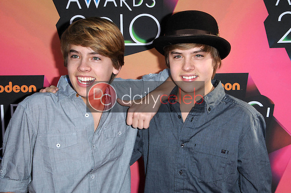 Dylan and Cole Sprouse<br /> at the Nickelodeon's 23rd Annual Kids' Choice Awards, UCLA's Pauley Pavilion, Westwood, CA 03-27-10<br /> David Edwards/DailyCeleb.com 818-249-4998