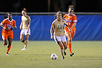 21 August 2011:  FIU's Deana Rossi (17) moves the ball upfield in the second half as the University of Florida Gators defeated the FIU Golden Panthers, 2-0, at University Park Stadium in Miami, Florida.