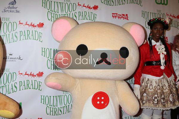 Korilakkuma<br /> at the 85th Annual Hollywood Christmas Parade, Hollywood Boulevard, Hollywood, CA 11-27-16<br /> David Edwards/DailyCeleb.com 818-249-4998