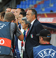 20170721 - TILBURG , NETHERLANDS : Italian coach Antonio Cabrini  pictured during the female soccer game between Germany and Italy  , the second game in group B at the Women's Euro 2017 , European Championship in The Netherlands 2017 , Friday 21 th June 2017 at Stadion Koning Willem II  in Tilburg , The Netherlands PHOTO SPORTPIX.BE | DIRK VUYLSTEKE
