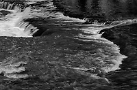 The ledge falls at on Prairie Creek in DesPlaines Fish & Wildlife Area lie just upstream from the creeks confluence with the Kankakee River, Will County, Illinois