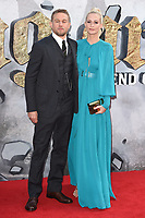 Charlie Hunnam and Poppy Delevingne<br /> at the premiere of &quot;King Arthur:Legend of the Sword&quot; at the Empire Leicester Square, London. <br /> <br /> <br /> &copy;Ash Knotek  D3265  10/05/2017