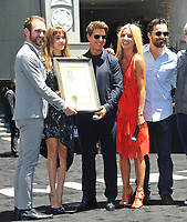 www.acepixs.com<br /> <br /> May 21 2017, LA<br /> <br /> Tom Cruise, Sofia Boutella, Jake Johnson, and Annabelle Wallis at the Universal Celebrates 'The Mummy Day' with 75-Foot Sarcophagus Takeover at Hollywood And Highland on May 20, 2017 in Hollywood, California.<br /> <br /> By Line: Peter West/ACE Pictures<br /> <br /> <br /> ACE Pictures Inc<br /> Tel: 6467670430<br /> Email: info@acepixs.com<br /> www.acepixs.com