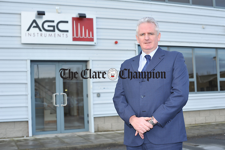 Marcus Creaven, managing director of ACC Instruments in Shannon. Photograph by John Kelly.