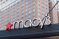Macy's department store  in New York on Tuesday, May 9, 2017.  Macy's is scheduled to report first-quarter earnings on May 11. (© Richard B. Levine)