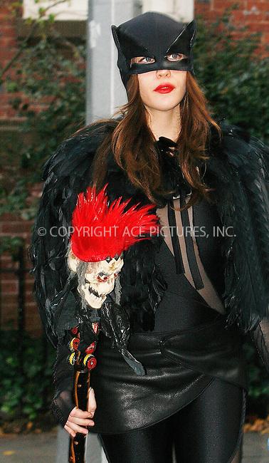 WWW.ACEPIXS.COM . . . . .  ....October 31 2010, New York City....Actress Liv Tyler enjoys Halloween with her son Milo in their West Village neighborhood on October 31 2010 in New York City....Please byline: NANCY RIVERA- ACEPIXS.COM.... *** ***..Ace Pictures, Inc:  ..Tel: 646 769 0430..e-mail: info@acepixs.com..web: http://www.acepixs.com