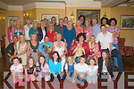 FANCYDRESS: David Brick, seated 3rd from right who held a famcy dress 30th birthday party for his family and friends in the Meadowlands Hotel, Tralee on Saturday evening..