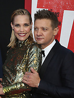 WESTWOOD, CA - JUNE 7: Leslie Bibb, Jeremy Renner, at the World premiere of Tag at the Regency Village Theatre in Westwood, California on June 7, 2018. <br /> CAP/MPIFS<br /> &copy;MPIFS/Capital Pictures