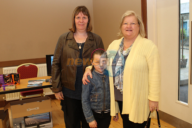 Margaret McLoughlin, Kelsey Britton and Joan Kierans at the Lifeboat Coffee Morning and Cake Sale in St.Peters Parish Rooms..(Photo credit should read Jenny Matthews/NEWSFILE)...
