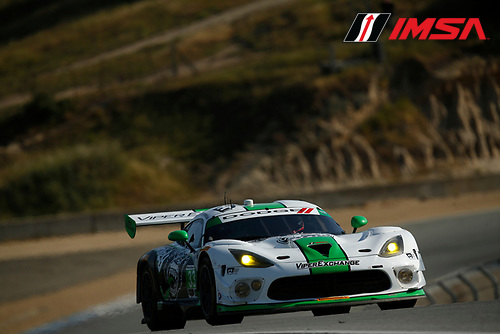 29 April - May 1, 2016, Monterey, California<br /> ,  33, Viper V10, Dodge GT3-R, GTD, Ben Keating, Jeroen Bleekemolen<br /> &copy;2016, Michael L. Levitt<br /> LAT Photo USA