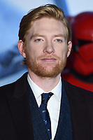 """Domhnall Gleeson<br /> arriving for the """"Star Wars: The Rise of Skywalker"""" premiere at the Cineworld Leicester Square, London.<br /> <br /> ©Ash Knotek  D3545 17/12/2019"""