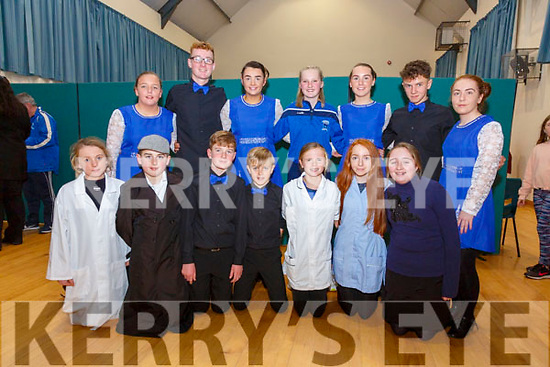 Members of the Renard GAA competing in the SK Finals of Scór na nÓg on Saturday were front l-r; Cara McCrohan, Brian O'Connell, Stephen O'Sullivan, Fintan O'Sullivan, Orla Fitzgerald, Ella Sheehan, Sheena O'Neill, back l-r; Niamh McCrohan, Brian O'Sullivan, Lilly Kelly, Marie O'Donnell, Deirdre Kelly, Breece O'Sullivan & Chloe Sheehan.