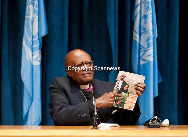 Press Conference Launching UNFPA Report on Child Marriage, Archbishop Desmond Tutu ..