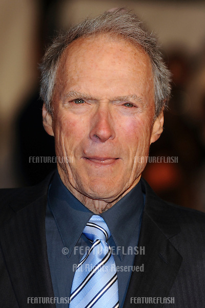Clint Eastwood arriving for the 'Invictus' premiere at the Odeon West End, Leicester Square, London.  31/01/2010  Steve Vas / Featureflash