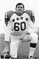 Danny Nykoluk 1970 Canadian Football League Allstar team. Copyright photograph Ted Grant