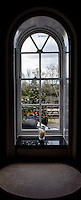 Hammersmith  Great Britain.<br /> <br /> View from the Window in Linden House.<br /> Round and About - Sons Of the Thames RC<br /> <br /> Saturday  23/04/2016<br /> <br /> [Mandatory Credit; Peter Spurrier/Intersport-images]
