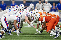 SAN ANTONIO, TX - OCTOBER 13, 2018: The University of Texas at San Antonio Roadrunners fall to the Louisiana Tech University Bulldogs 31-3 at the Alamodome. (Photo by Jeff Huehn)