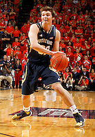 Notre Dame guard Steve Vasturia (32) during the game Saturday, February 22, 2014,  in Charlottesville, VA. Virginia won 70-49.