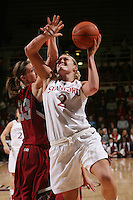 STANFORD, CA - JANUARY 14:  Jayne Appel of the Stanford Cardinal during Stanford's 80-43 win over the Washington State Cougars on January 14, 2009 at Maples Pavilion in Stanford, California.