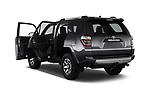 Car images close up view of 2017 Toyota 4Runner Off-Road 5 Door SUV doors
