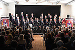 St Peters Male Voice Choir performing at the first concert in the new Drumshallon Forge. Photo:Colin Bell/pressphotos.ie