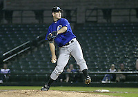 May 26, 2004:  Pitcher Pat Strange of the Norfolk Tides, Triple-A International League affiliate of the New York Mets, during a game at Frontier Field in Rochester, NY.  Photo by:  Mike Janes/Four Seam Images