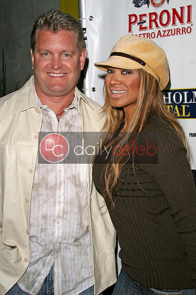 John Edward Yarbrough and Traci Bingham<br />at the Fashion Factory Boutique Grand Opening Celebration.  Fashion Factory Boutique, West Hollywood, CA. 05-06-08<br />Dave Edwards/DailyCeleb.com 818-249-4998